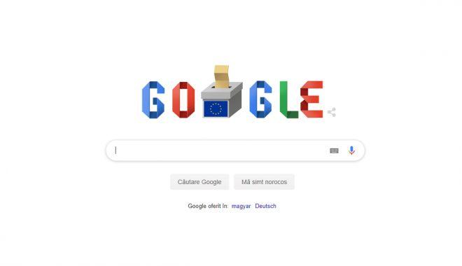 Foto: Google marchează europarlamentarele 2019