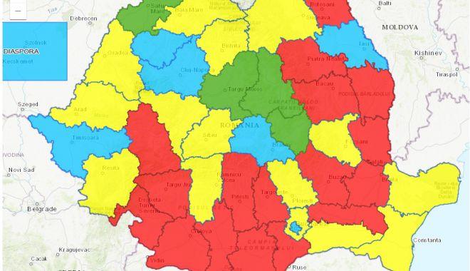 Foto: HARTĂ INTERACTIVĂ. Rezultatele la europarlamentare, în fiecare județ din țară