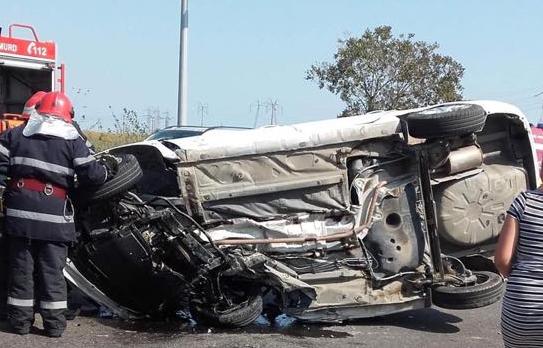 GALERIE FOTO-VIDEO / Primele imagini de la accidentul teribil din Ovidiu - untitled-1567513821.jpg