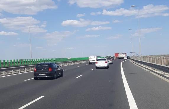 Foto: Trafic rutier îngreunat pe A4!