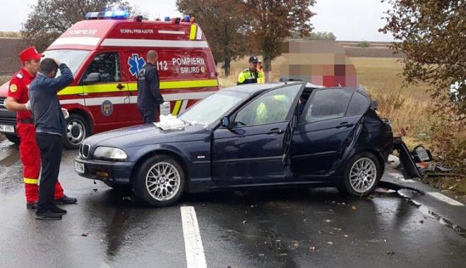 TRAGEDIE RUTIERĂ LA CONSTANȚA! Și-a pierdut viața după ce mașina în care se afla s-a izbit de un copac - untitled-1569315227.jpg