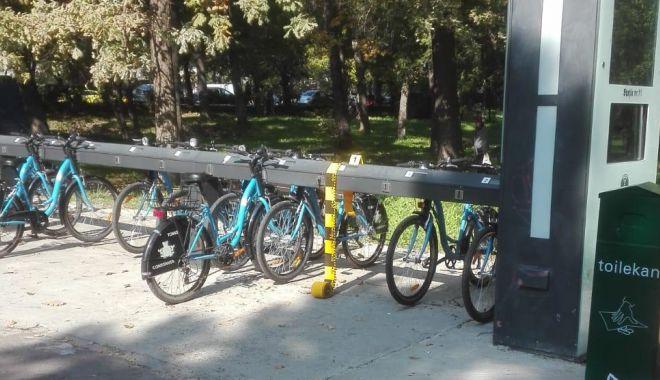Foto: Biciclete furate, la Constanța, după valul de vandalizări