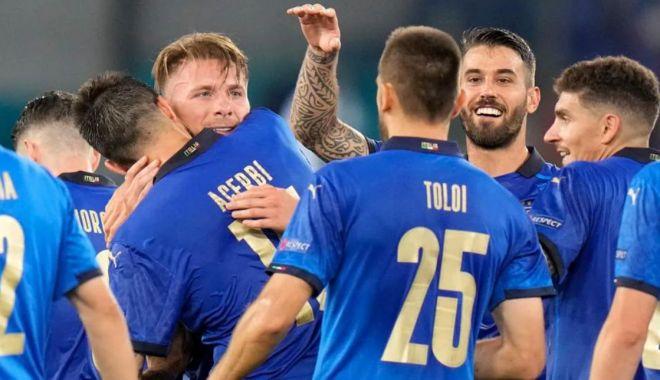 Fotbal, EURO 2020 / Italia, prima echipă calificată în optimi. Rusia, balon de oxigen