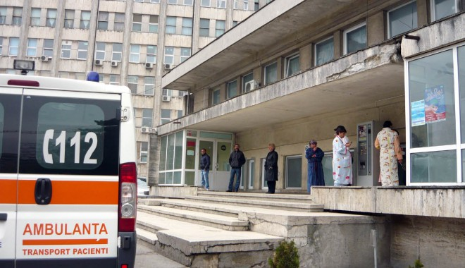 Foto: GRAV / De două ori mai mulţi constănţeni au ajuns la Urgenţă