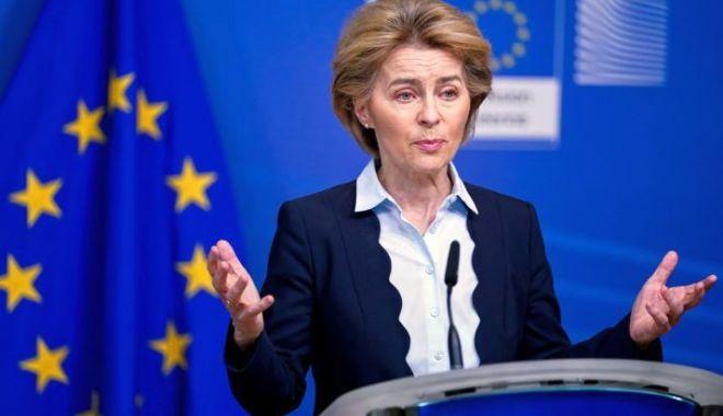 "Foto: Ursula von der Leyen: ""Criza Covid-19 va întări Europa"""