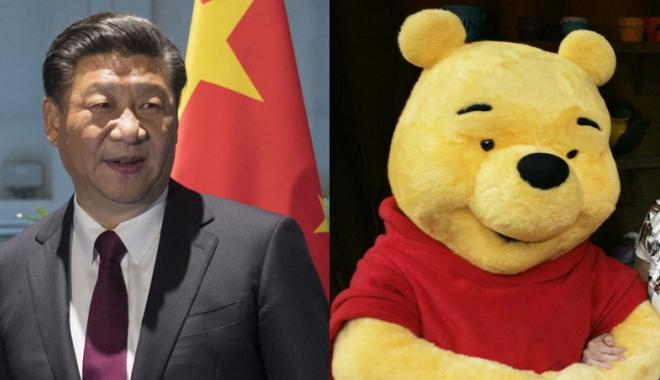 Foto: Ursuleţul Winnie, cenzurat total pentru că seamănă cu preşedintele!