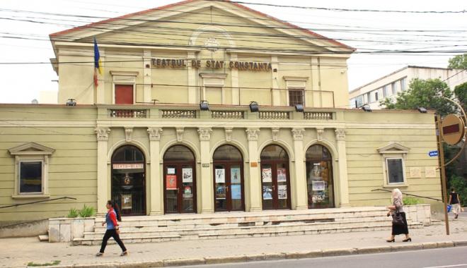 """Foto: """"Ursul"""" lui Cehov  se joacă la Teatrul de Stat"""