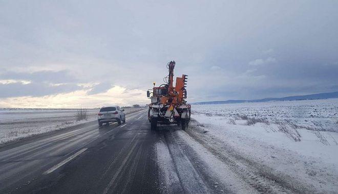 Foto: Iarna se întoarce în forţă! Un val de aer polar pune stăpânire pe România