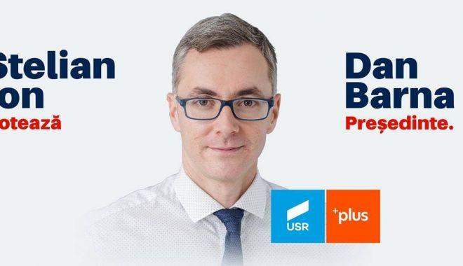 Foto: Stelian Ion votează Dan Barna
