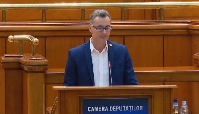 """Foto: Deputatul constănţean Stelian Ion, de la USR: """"PSD şi ALDE vor să cureţe Parlamentul de dosare"""""""
