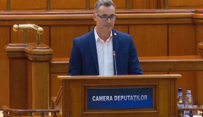 Foto: Deputatul Stelian Ion, de la USR - discurs despre Europa