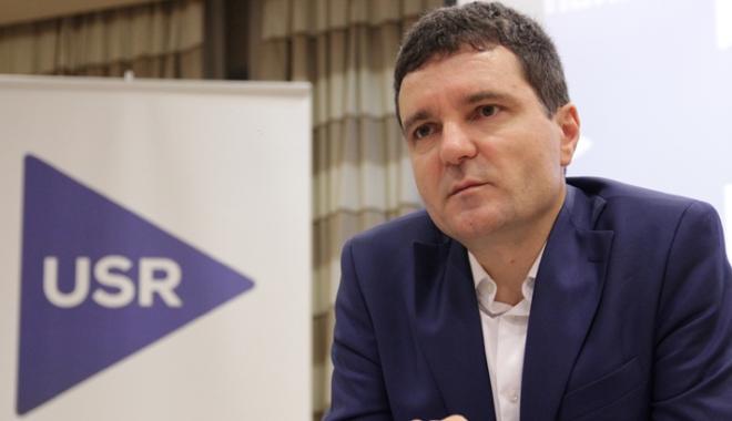 Foto: Nicuşor Dan: Ţelul USR este de a deveni al doilea partid din România în 2019