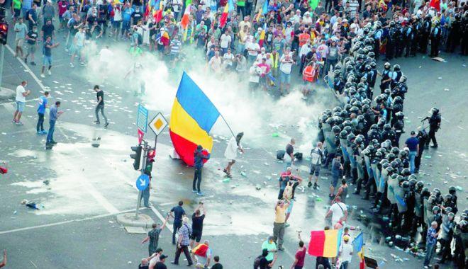 Foto: USR cere declasificarea de urgență a raportului privind protestul din 10 august