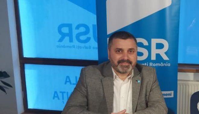 Foto: Remus Negoi, candidatul USR la funcția de președinte al Consiliului Județean Constanța