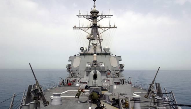 Foto: Distrugătorul USS Donald Cook, din nou în Marea Neagră