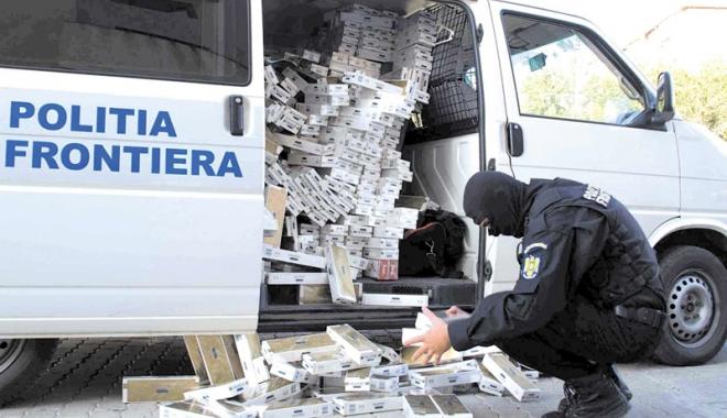 Foto: Vama dă iama printre contrabandiştii de ţigări