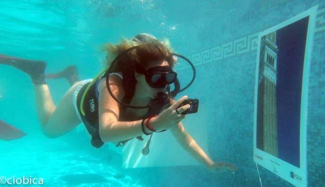 Foto: Expoziţia subacvatică de fotografie s-a bucurat de un real succes