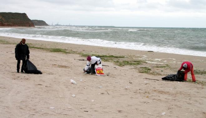 Foto: Primăria Limanu se pregăteşte pentru sezonul estival. Banii din taxa verde, folosiţi pentru ecologizare