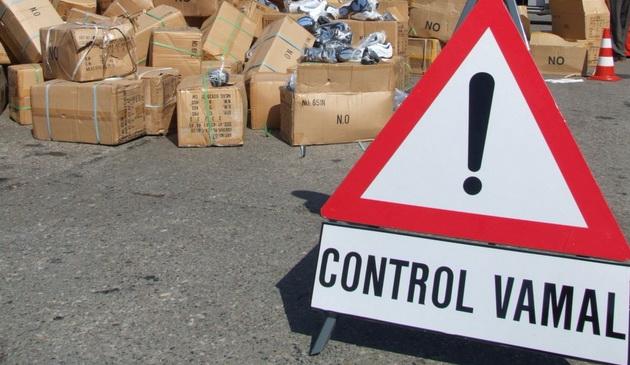 Foto: Mărfuri contrafăcute, în valoare de 88.500 euro, reţinute la Constanţa