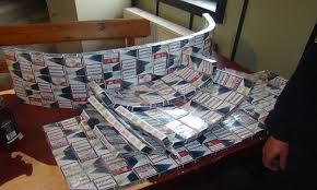 Foto: Vameșii de la Siret au capturat 18.820.540 de țigări de contrabandă