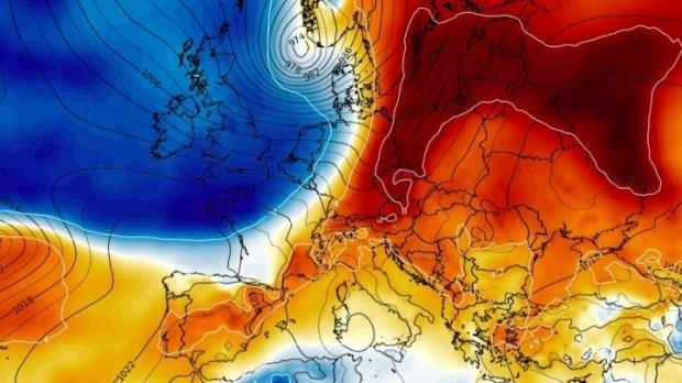 Foto: Valul de aer polar ajunge în România. Vremea se schimbă radical