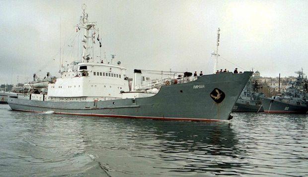 Foto: INCIDENT TERIBIL ÎN MAREA NEAGRĂ. DOUĂ NAVE S-AU CIOCNIT! VASUL RUSESC, ÎN PERICOL DE A SE SCUFUNDA. 78 de militari, la bord