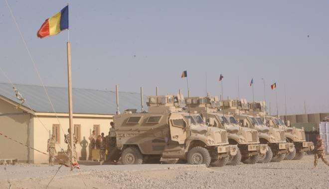 Foto: MApN: Starea de sănătate a militarilor răniţi în Afganistan evoluează în mod favorabil