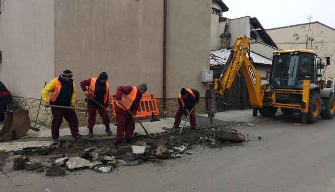 Foto: Veste bună! Se repară trotuarele în Constanța
