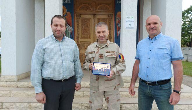 Plachetă de onoare pentru jandarmul Marian Zamfira - veteranzamfira2-1621361436.jpg