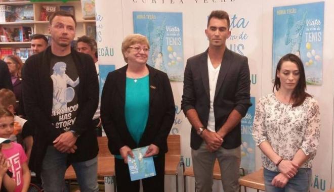 """Foto: """"Viaţa în ritm de tenis!"""" Horia Tecău şi-a lansat cartea, la Constanţa"""