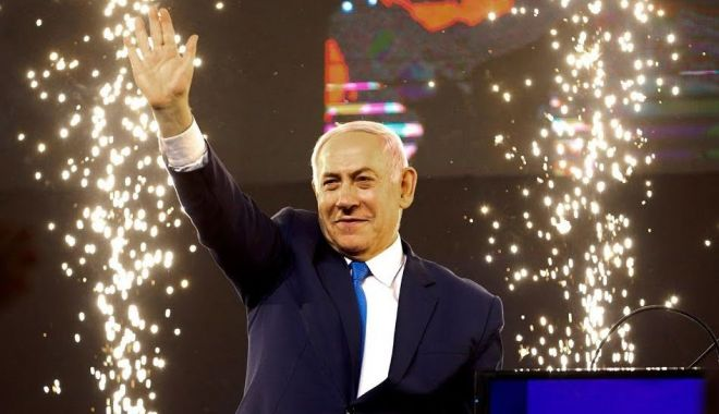 Foto: Victoria lui Netanyahu, confirmată de comisia electorală