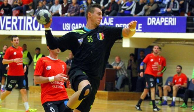 Foto: Liga Naţională de handbal masculin. Victorie la diferenţă de 10 puncte pentru HCM Constanţa