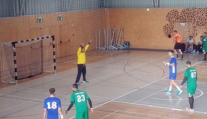 Foto: Victorie pentru HC Dobrogea Sud, în primul amical din Slovenia