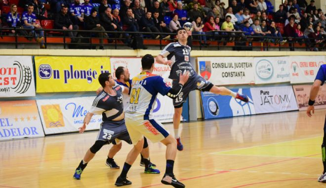 Foto: Victorie la scor pentru HC Dobrogea Sud Constanţa, în deplasarea  de la Cluj