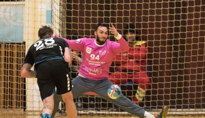 Foto: Victorie pentru HCDS, înaintea partidei cu FC Porto, din Cupa EHF