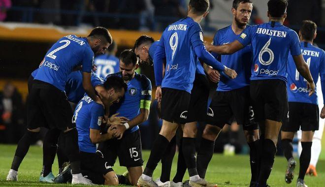Foto: Victorie importantă pentru FC Viitorul. Campioana CFR, învinsă la Ovidiu