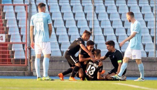 Foto: Victorie clară în Luxemburg. FC Viitorul, debut perfect în Europa League