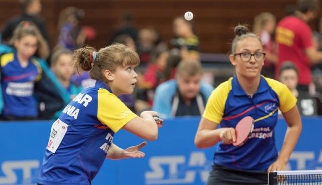 Foto: Victorii pe linie pentru tricolori,  la Campionatul European de tenis de masă