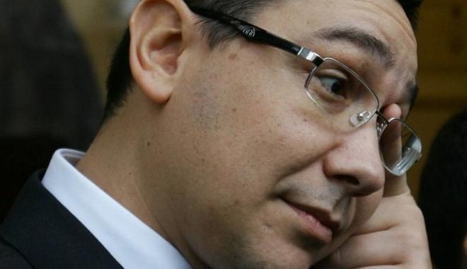 Foto: DNA: Victor Ponta, pus sub control judiciar