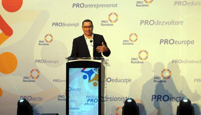 Foto: Victor Ponta, ales președinte al Pro România.