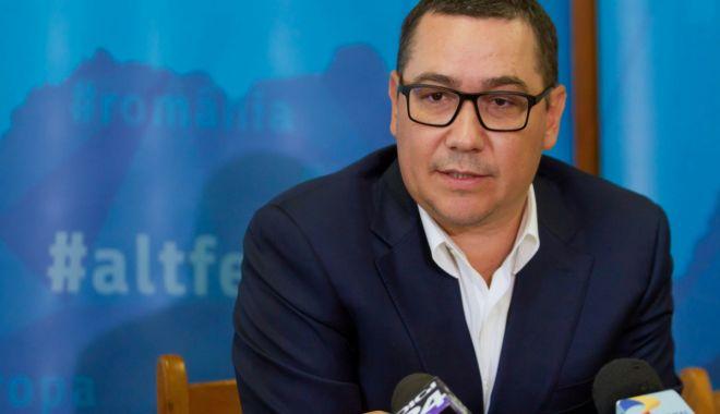 """Foto: Victor Ponta: """"Coșmarul politic al lui Dragnea este Pro România"""""""