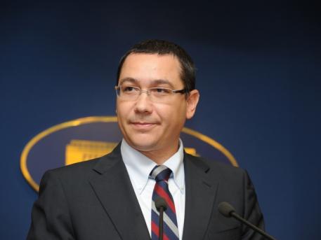 Foto: Ponta: Marii câştigători ai moţiunii de cenzură, dacă va trece, vor fi preşedintele Iohannis şi UDMR