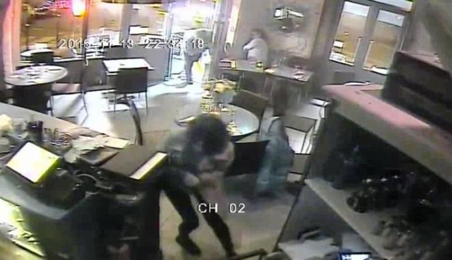 Foto: VIDEO ŞOCANT! Atentatul terorist din Paris, surprins pe camerele de supraveghere