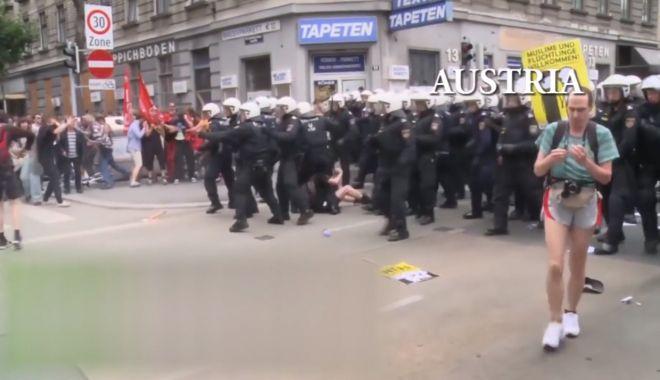 VIDEO / Jandarmeria prezintă un colaj cu modul de intervenție în UE și SUA - video-1534444033.jpg