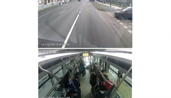 VIDEO. Imagini de groază dintr-un autobuz CT BUS. O femeie, rănită - video-1613391339.jpg