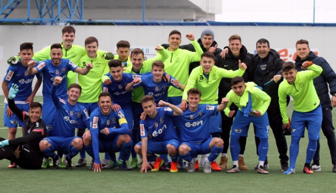 Foto: FC Viitorul U19 joacă finala Cupei României