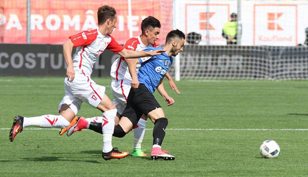 Foto: Un jucător al Viitorului Constanţa, convocat la lotul României U18