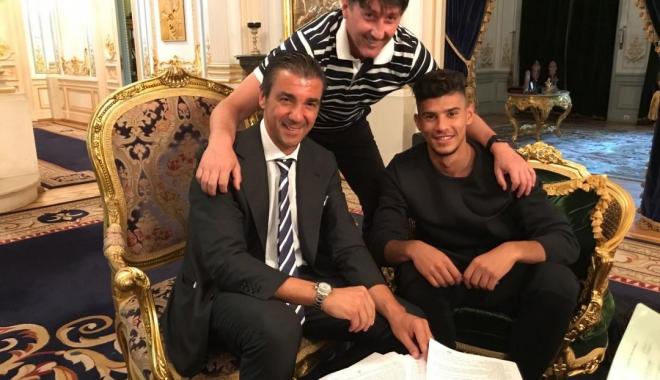 Foto: Florinel Coman a semnat cu FCSB