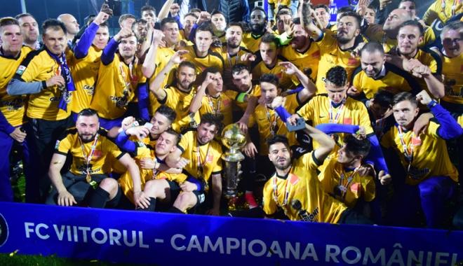Foto: Hagi şi-a împlinit visul! FC Viitorul, noua campioană a României la fotbal