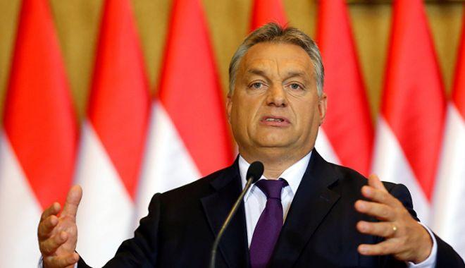 Foto: Viktor Orban apără legea muncii suplimentare